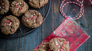 Peppermint Hot Chocolate Cookies #ShareTheJoy