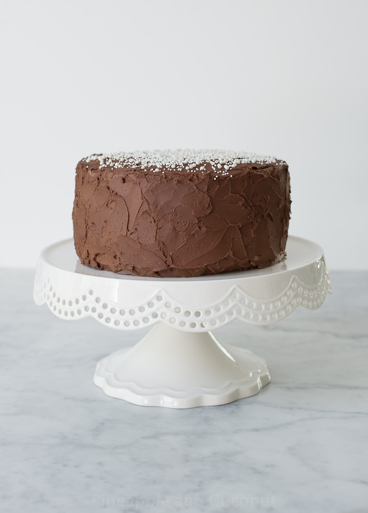 Incredible Chocolate Cake And Martha Stewart Pineapple And Coconut Funny Birthday Cards Online Overcheapnameinfo