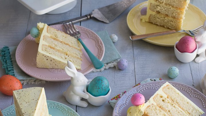 Easter Coconut Lemon Cake