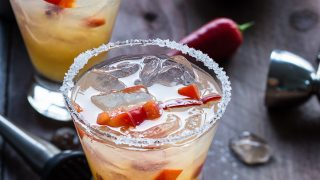 Spicy Chili Pepper Mango Margarita