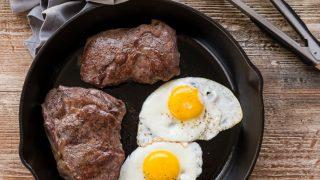 Man Food : Steak and Eggs