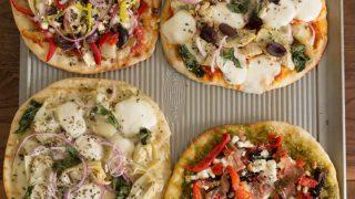 Mediterranean Grilled Pizzas