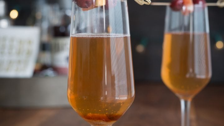 Old Fashioned Champagne Cocktail