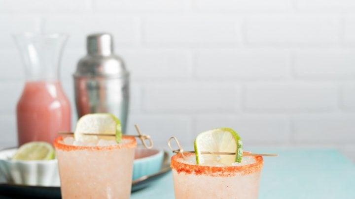 Li Hing Guava Margaritas