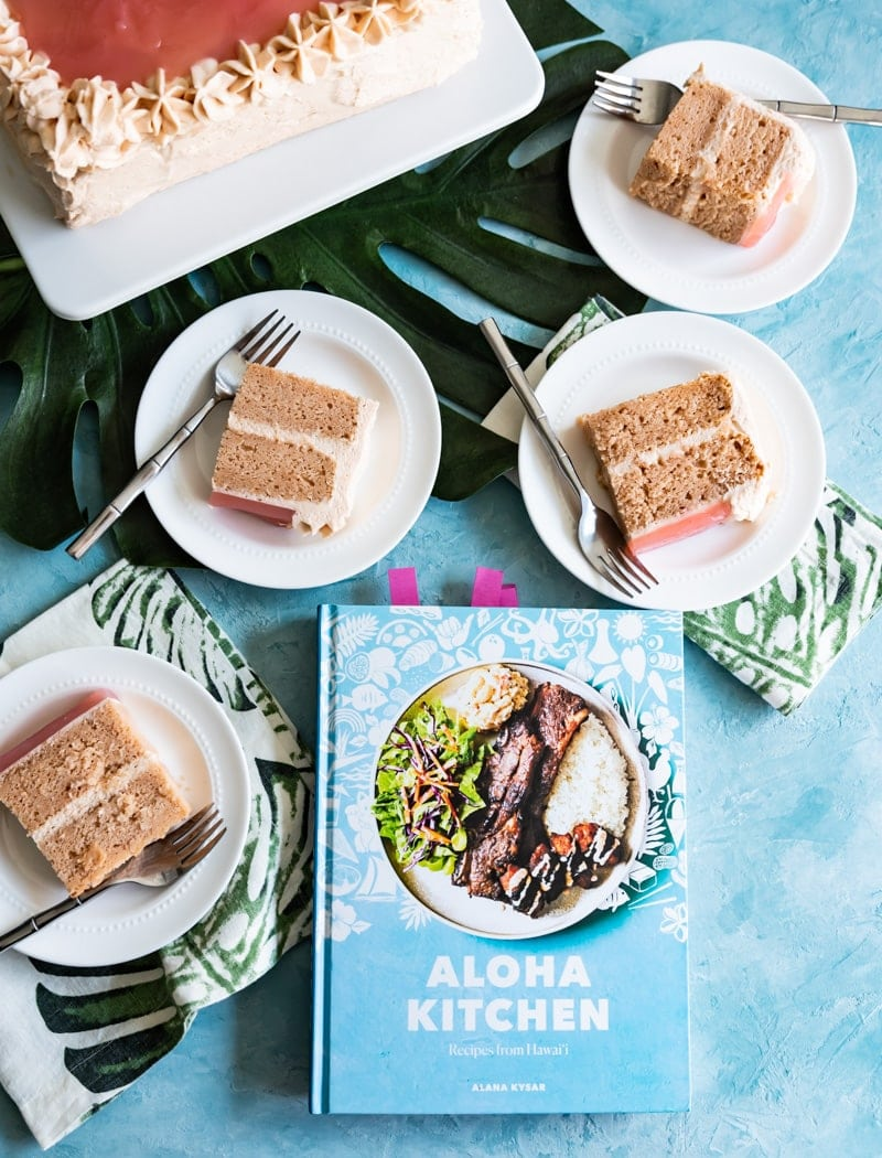 Aloha Kitchen Hawaiian Guava Cake