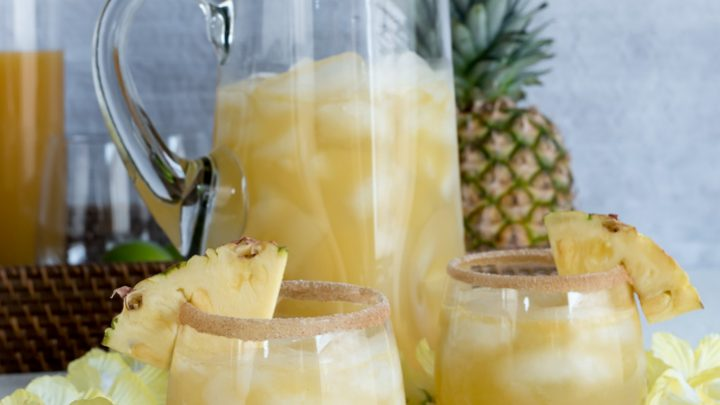 Spiced Pineapple Rum Punch