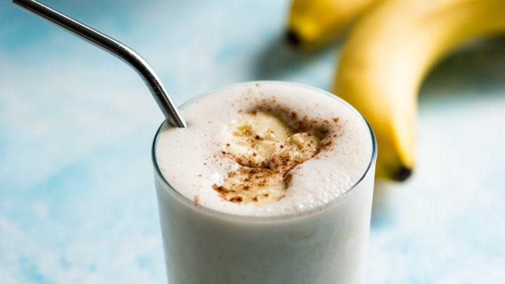 High Protein Banana Pancake Smoothie