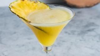 Aloha Friday Martini ( Pineapple Coconut Martini)