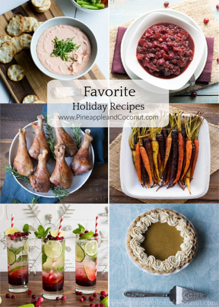 Reader's Fave Holiday Recipes from www.pineappleandcoconut.com