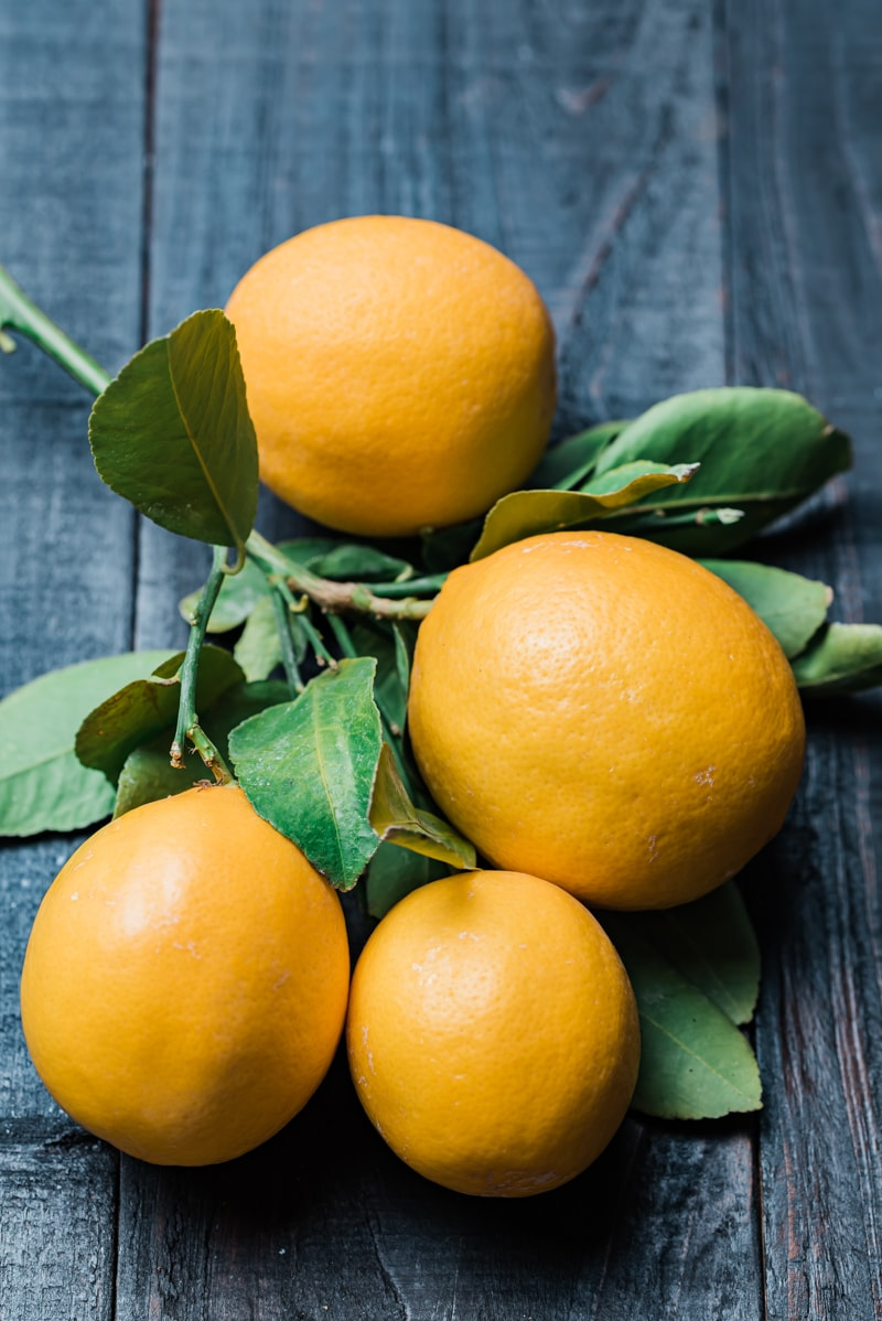 Meyer Lemons www.pineappleandcoconut.com