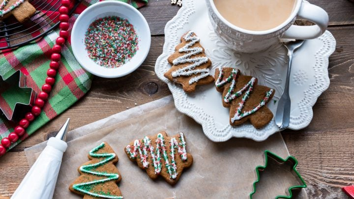 Soft Spiced Gingerbread Cut Out Cookies