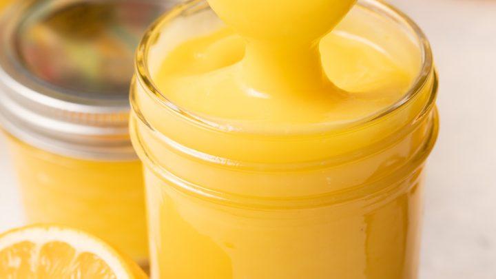 Easy Meyer Lemon Curd Recipe