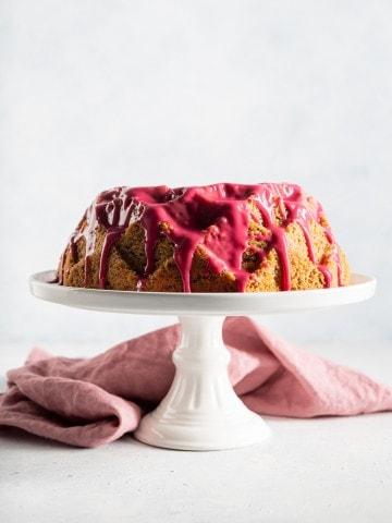 Hibiscus Meyer Lemon Sour Cream Bundt Cake5205