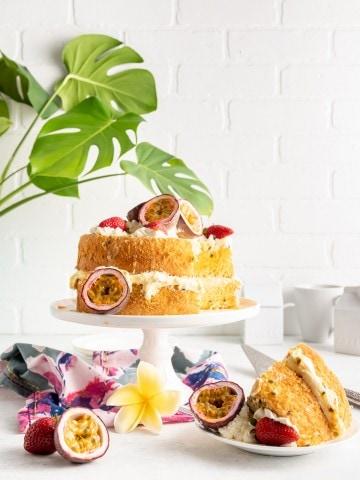 Triple Passion Fruit Sponge Cake6551