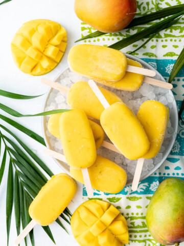 Calamansi Mango Sorbet Bars 7