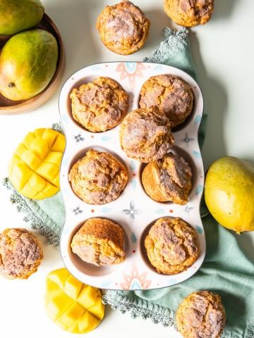 Cinnamon Mango Muffins 1 2